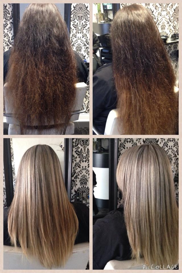 Colour correction & Keratin