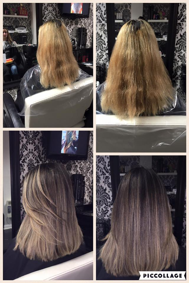 Colour correction & Brazilian Keratin