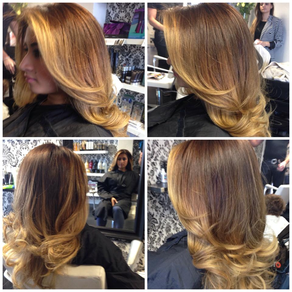 Colour & blow dry